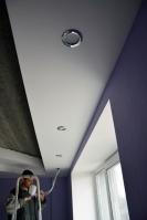 Подключение светильников вготовом потолочном коробе