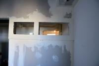 Монтаж перегородки изГКЛ подизайн проекту вдетской комнате