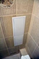 Ремонт туалета подизайн-проекту: пластиковые лючки