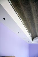 Почти готовый многоуровневый потолок вспальной комнате