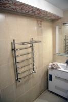 Ремонт ванной комнаты— полотенцесушитель