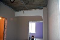 Изготовление имонтаж полуарки подизайн-проекту привходе вспальную комнату