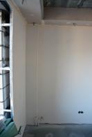 Монтаж перегородки изГКЛ ипотолочных коробов подизайн проекту вдетской комнате