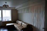Итог ремонта гостиной встиле модерн