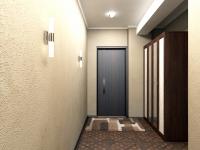3D модель: дизайн коридора