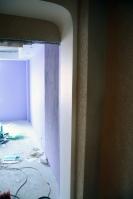 Изготовление имонтаж полуарки привходе вспальную комнату