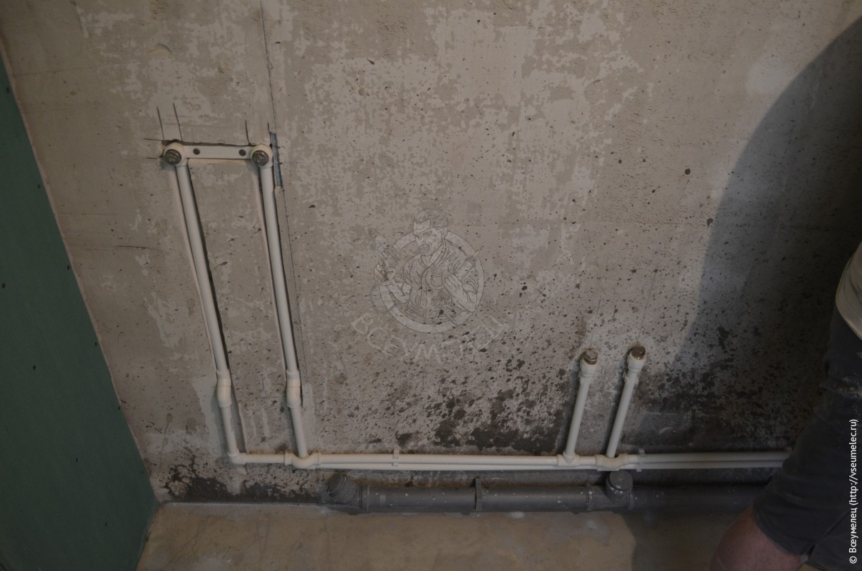 Фотографии процесса ремонта квартиры-студии вновостройке наЕрмака