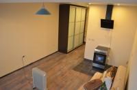 Финальные фотографии ремонта квартиры-студии вновостройке наЕрмака