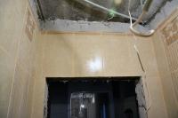 емонт туалета подизайн-проекту: плитка наддверью