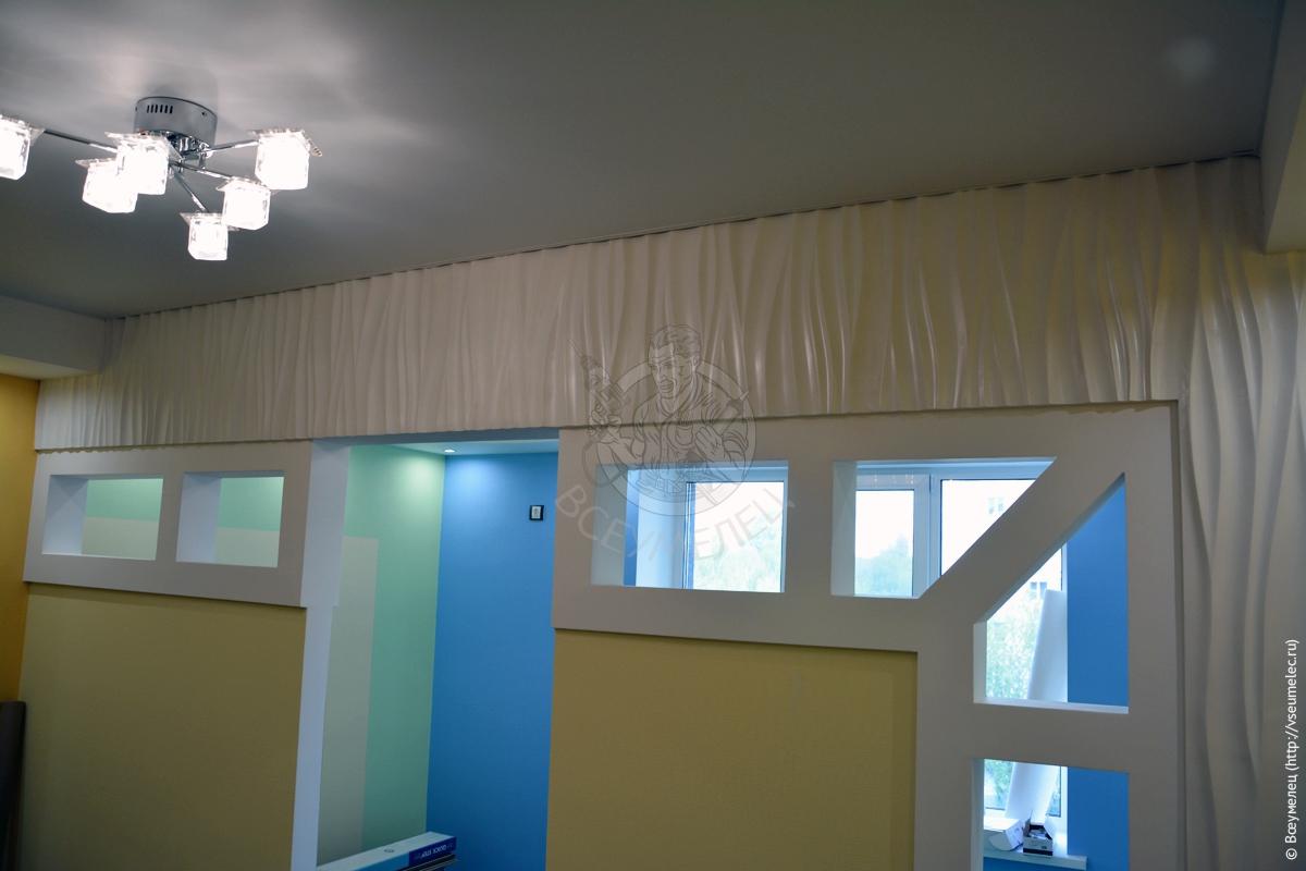 Готовая перегородка вдетской комнате, выполненная по3D дизайну