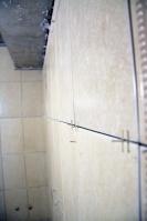 Ремонт ванной подизайн-проекту: облицовка стен плиткой