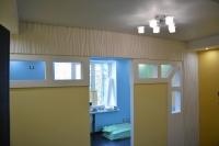 Настоящая перегородка вдетской комнате, выполненная по3D дизайну