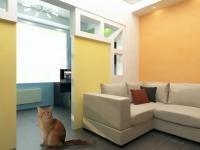 3D модель перегородки вдетской комнате