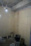 Ремонт ванной подизайн-проекту: олицовка стен плиткой